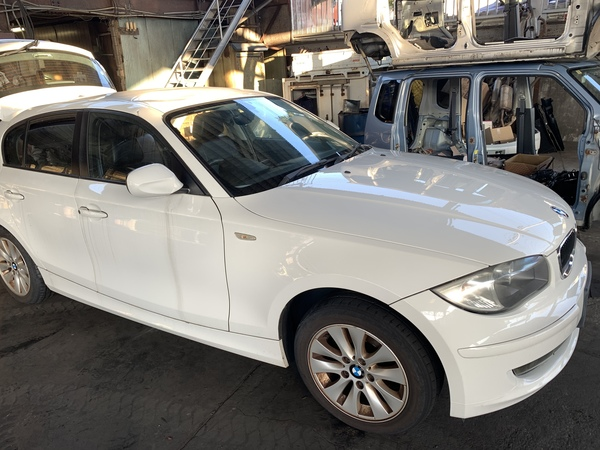 BMW 116i 廃車買取のサムネイル